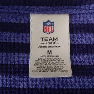 2ff8620e MN Vikings NFL Apparel Sleep Shirt Sz M NWT NWT